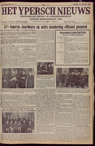Het Ypersch nieuws (1929-1971) 1967-03-24