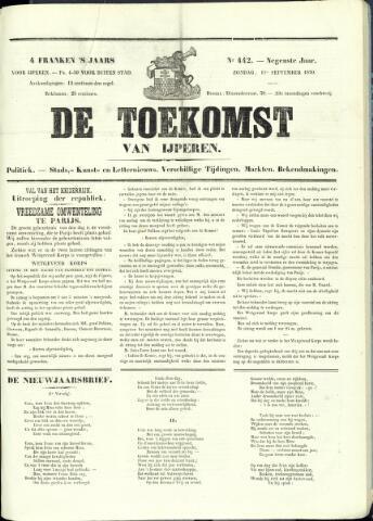 De Toekomst (1862 - 1894) 1870-09-11