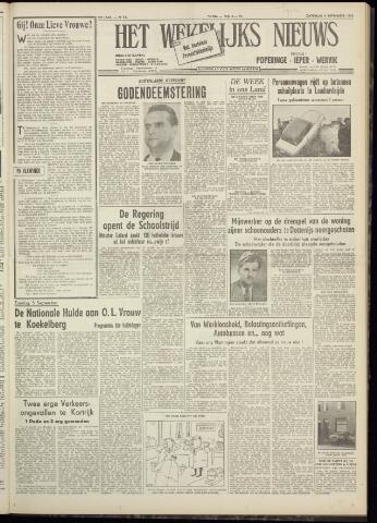 Het Wekelijks Nieuws (1946-1990) 1954-09-04