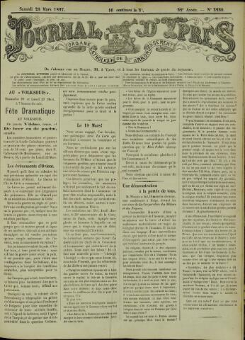 Journal d'Ypres (1874 - 1913) 1897-03-20