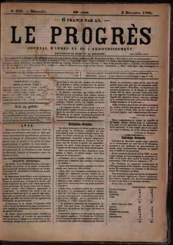 Le Progrès (1841-1914) 1880-12-05