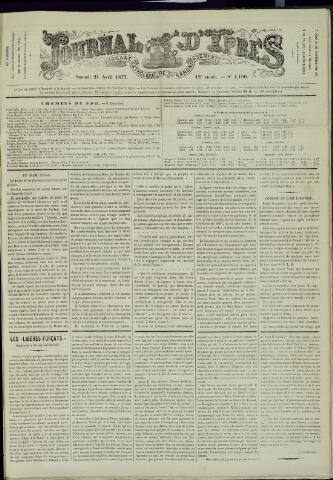 Journal d'Ypres (1874 - 1913) 1877-04-21