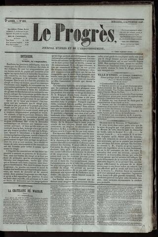 Le Progrès (1841-1914) 1847-09-05