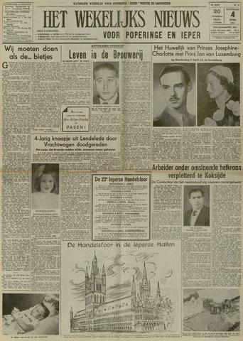 Het Wekelijks Nieuws (1946-1990) 1953-04-04