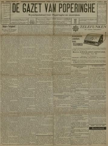 De Gazet van Poperinghe  (1921-1940) 1931-03-01