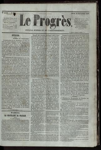Le Progrès (1841-1914) 1847-09-16