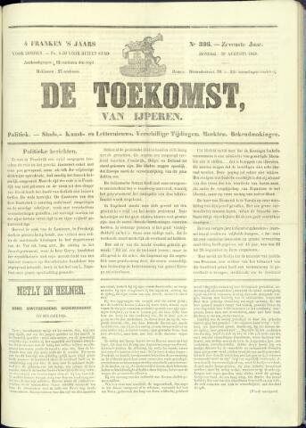 De Toekomst (1862 - 1894) 1868-08-30