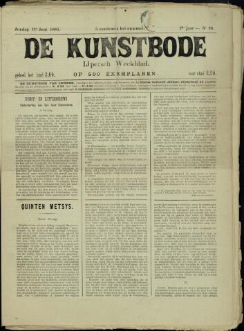 De Kunstbode (1880 - 1883) 1881-06-12