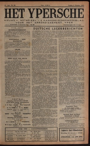 Het Ypersch nieuws (1929-1971) 1943-10-08