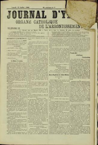 Journal d'Ypres (1874 - 1913) 1906-07-25