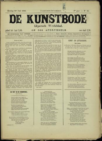 De Kunstbode (1880 - 1883) 1882-07-23