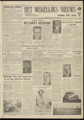 Het Wekelijks Nieuws (1946-1990) 1956-02-04