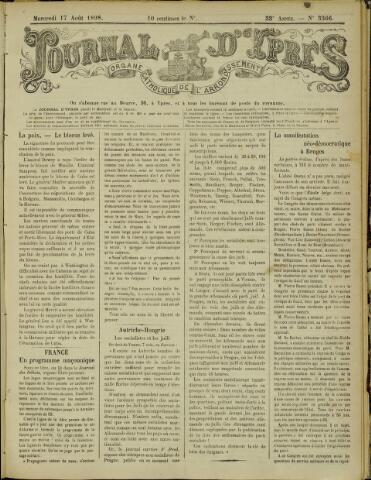 Journal d'Ypres (1874 - 1913) 1898-08-17