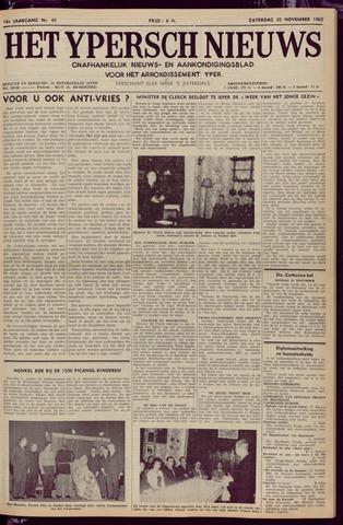 Het Ypersch nieuws (1929-1971) 1965-11-20