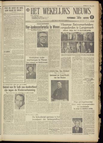 Het Wekelijks Nieuws (1946-1990) 1955-04-23