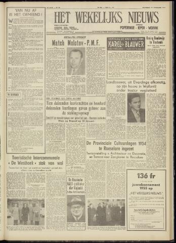 Het Wekelijks Nieuws (1946-1990) 1954-11-27