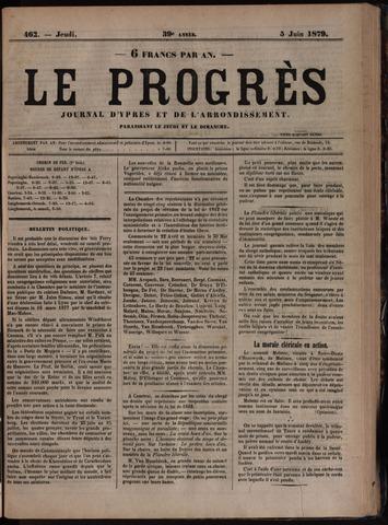 Le Progrès (1841-1914) 1879-06-05