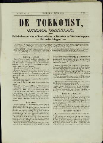 De Toekomst (1862 - 1894) 1863-06-21