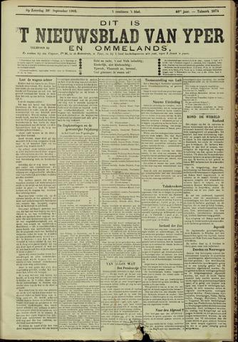 Nieuwsblad van Yperen en van het Arrondissement (1872 - 1912) 1905-09-30