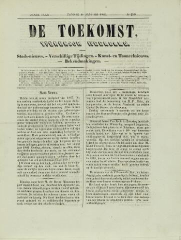 De Toekomst (1862 - 1894) 1867-01-06