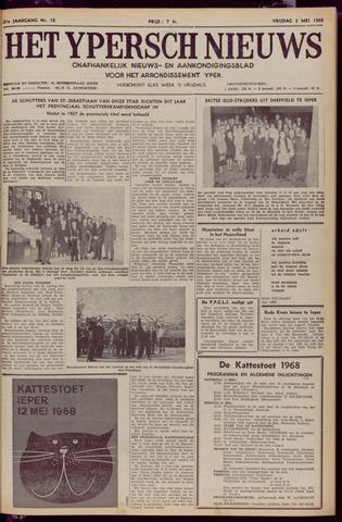 Het Ypersch nieuws (1929-1971) 1968-05-03