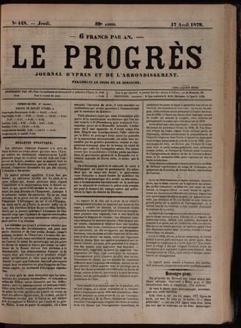 Le Progrès (1841-1914) 1879-04-17