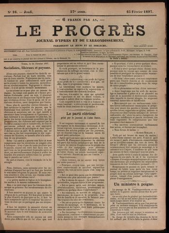 Le Progrès (1841-1914) 1897-02-25