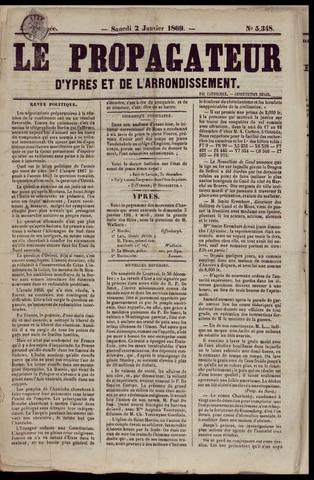 Le Propagateur (1818-1871) 1869