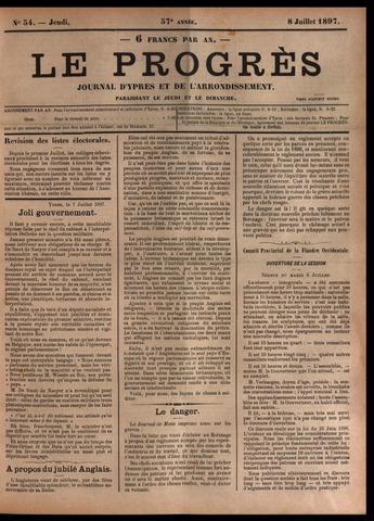 Le Progrès (1841-1914) 1897-07-08