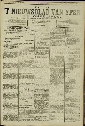 Nieuwsblad van Yperen en van het Arrondissement (1872 - 1912) 1902-03-29