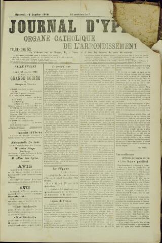 Journal d'Ypres (1874 - 1913) 1906-01-24
