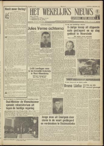 Het Wekelijks Nieuws (1946-1990) 1957-11-09