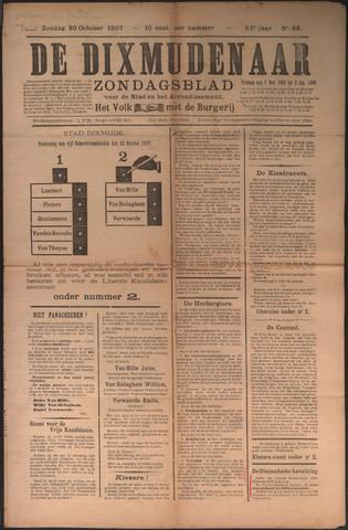 De Dixmudenaar 1907-10-20
