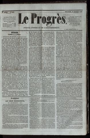 Le Progrès (1841-1914) 1847-07-18