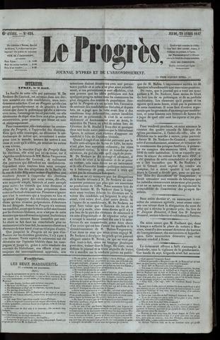 Le Progrès (1841-1914) 1847-04-29