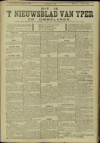 Nieuwsblad van Yperen en van het Arrondissement (1872 - 1912) 1902-12-27