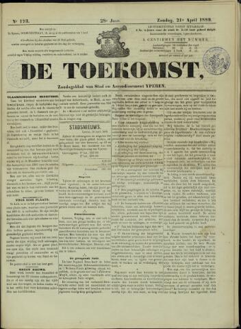 De Toekomst (1862 - 1894) 1889-04-21