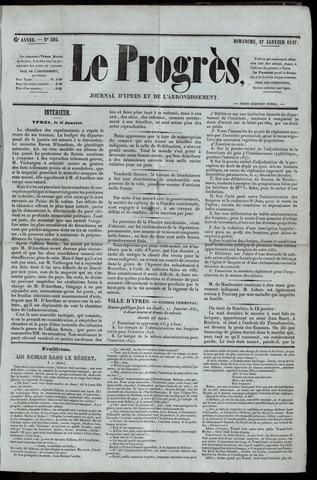 Le Progrès (1841-1914) 1847-01-17