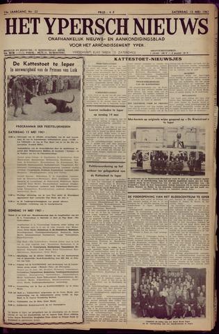 Het Ypersch nieuws (1929-1971) 1961-05-13