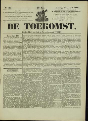 De Toekomst (1862 - 1894) 1889-08-25