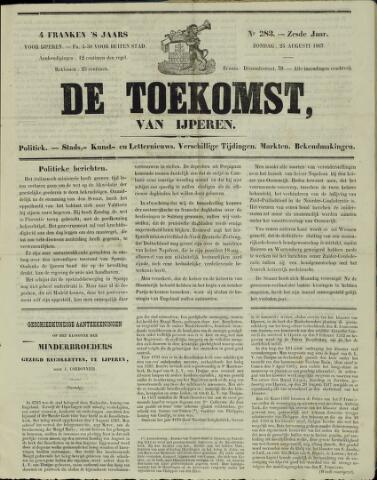 De Toekomst (1862 - 1894) 1867-08-25