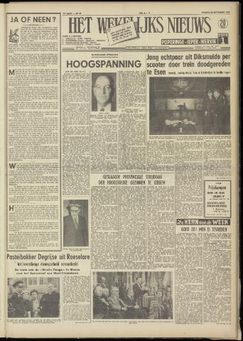 Het Wekelijks Nieuws (1946-1990) 1958-09-26