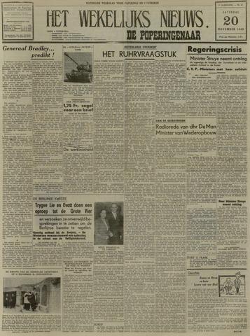 Het Wekelijks Nieuws (1946-1990) 1948-11-20