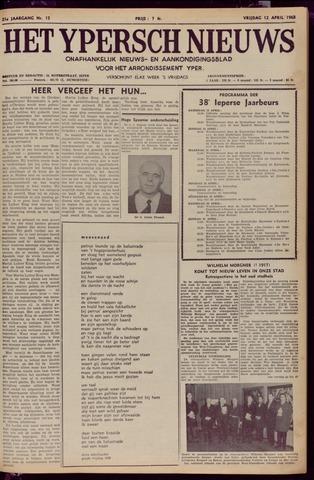 Het Ypersch nieuws (1929-1971) 1968-04-12