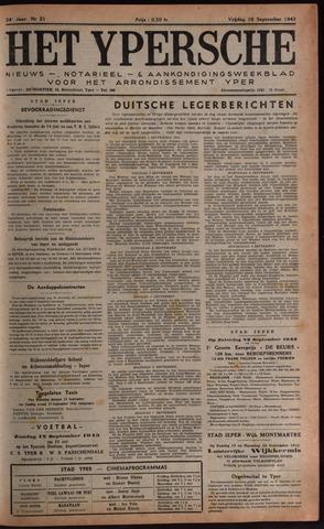 Het Ypersch nieuws (1929-1971) 1943-09-10