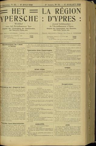 Het Ypersche (1925 - 1929) 1920-07-11