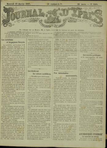 Journal d'Ypres (1874 - 1913) 1897-01-13