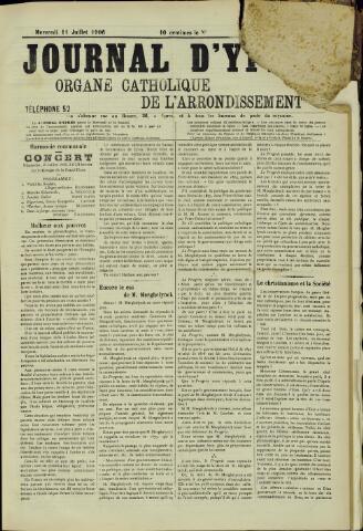 Journal d'Ypres (1874 - 1913) 1906-07-11