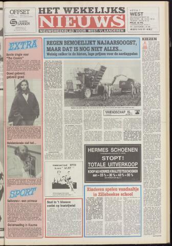 Het Wekelijks Nieuws (1946-1990) 1987-10-16