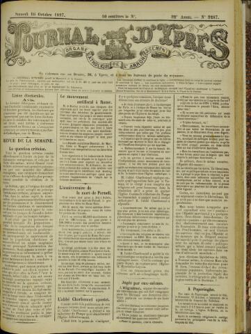 Journal d'Ypres (1874 - 1913) 1897-10-16